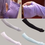 Unisex Sport Arm Cooling Sleeves Gloves UV Sun Protection Cover Golf Driving Accessories