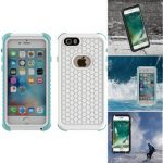 2 In 1 PC PET IP68 Waterproof Shockproof Snowproof Dustproof Case For iPhone 6 6s 4.7 Inch
