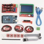Geekcreit 3D Printer Kit For Arduino Reprap RAMPS 1.4 Mega2560 A4988 Drive LCD12864 Display Endstop Switch