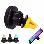 Car Air Vent Phone Holder For Mounting Kit 360 Rotation Magnetic