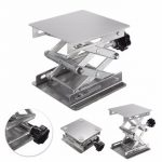 4×4 inch Stainless Steel Lab Stand Lifting Platform Laboratory Tool