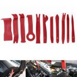 Car Interior Panel Audio Stereo 11 Pcs Removal Removing Plastic Lever Tool