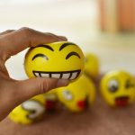 Squishy Emoji Smiley Face Anti Stress Relief Autism Mood Squeeze Ball Reliever Toy