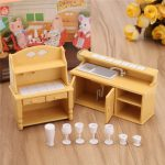 1:12 Simulation Dresser Cabinet Playhouse Props Dollhouse Creative DIY Material