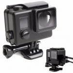 Black Protective Housing Case Cover USB Video Port Side Open For GoPro Hero 4 3 Plus