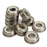 10pcs Motor Flange Bearing F608ZZ Metric Ball Bearings Part