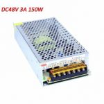 Universal AC85-265V to DC48V 3A 150W Switch Power Supply Driver Adapter Transformer LED Strip Light