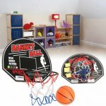 Mini Basketball Backboard Hoop Net Set Kids Children Toys Indoor Sports Game