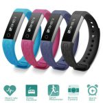 K2 Waterproof 0.86 Inch OLED Heart Rate Sport Smart Band Bracelet Iphone Android Ios