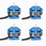 4X Racerstar Racing Edition 1103 BR1103B 8000KV 1-3S Brushless Motor Dark Blue For 50 80 100 Frame