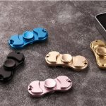 Rotating Fidget Hand Spinner ADHD Austim Fingertips Fingers Gyro Reduce Stress Focus Attention