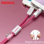 Remax RC-025t 2.1A 2 in 1 8pin and Micro USB Cable for iPhone Samsung Xiaomi