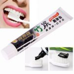 Bamboo Charcoal Black Teeth Whitening Clean Toothpaste Smoke Stains Tartar Removal Oral Care