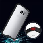 Acrylic Colorful Edge Shockproof Back Case Cover for Samsung S7 G9300