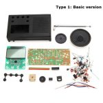 Geekcreit DIY 3V FM Radio Kit Electronic Learning Suite Frequency Range 72MHz-108.6MHz