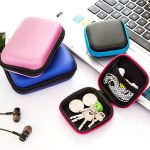Headphone Cable Cellphone Charger Data Cable Box Headset Storage Bag Organizer