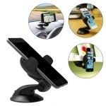 Universal 360 Rotation Suction Cup Table Bracket Car Mount Phone Holder for Phone Under 5.5 inches