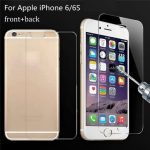 Front And Back Film 9H Explosion Proof Tempered Glass Screen Protector For iPhone 6 6S 4.7 inch