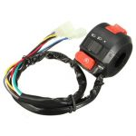 7/8 inch 22mm Handlebar Left Switch Chinese 110cc Motorcycle ATV Quad 3 Functions