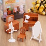 1:12 Simulation Dresser Set Playhouse Props Dollhouse Creative DIY Material