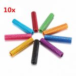 10Pcs M3 25mm Knurled Standoff Aluminum Alloy Anodized Spacer
