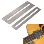 2Pcs Steel FretBoard Fingerboard Fret Protector Guards For Guitar Bass