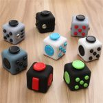 Whiny Cube Anxiety Stress Relief Fidget Toy Focus Adults Kids Attention Therapy Developmental Gift