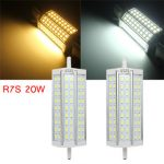 R7S 20W Dimmable Bright 57301050LM Led Bulb Flood Light Halogen Lamp Replacement AC 85-265V