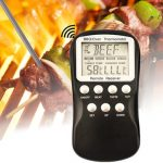 Wireless Remote Control BBQ Meat Thermometer Barbecue Kitchen Digital Food Thermometers