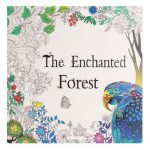 The Enchanted Forest Adult English Graffiti Coloring Children Painting Books