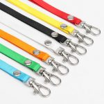 Multi-color 10mm Work Card Badge Document Lanyard Hang Rope Sling