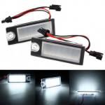 2pcs 18 LED White License Plate Light For Volvo S80 99-06 V70 XC70 S60 XC90