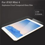 For iPad Mini 4 2.5D 0.26mm Tablet Screen Protector Tempered Glass Guard Protective Film
