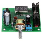 LM317 Adjustable Voltage Regulator Step-down Power Supply Module LED Meter