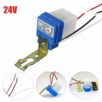 Automatic Auto On Off Street Light Switch Photo Control Sensor for AC/DC 24V 10A
