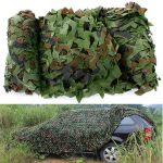 4×1.5m Woodland Camouflage Camo Net For Camping Military Photography