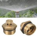 5pcs 1/2 Inch Brass Atomization Spray Nozzle Garden Greenhouse Cooling Misting Sprinkler Head