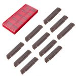 10pcs MGMN200-G LDA Carbide Inserts for MGEHR/MGIVR Grooving Cut-Off Tool
