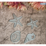 Conch Starfish Metal Cutting Dies Stencil Scrapbook Card Album Paper Craft Decoration
