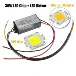 High Power 30W LED SMD Chip Bulb with Waterproof Driver Supply DC20-40V