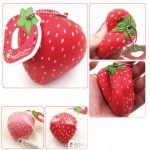 Squishyfun Super Slow Rising 8CM Strawberry Squeeze Toys Fun Gift