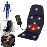 Neck Lumbar Back Pain Relief Massage Heating Relaxation Mat Seat Cushion Vehicle-mounted Household