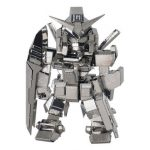 MU SOA-SD01 DIY 3D Robot Puzzle Model Silver Color 80 50 28mm