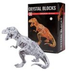 Crystal Puzzle 3D Dinosaur 50pcs Jigsaw Funtime Kid's Brainteaser Game