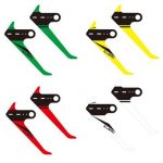 ALZRC Devil 380 420 FAST RC Helicopter Part Carbon Vertical Stabilizer Colorful Sticker