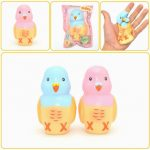 Kiibru Squishy Parrot Slow Rising Original Packaging Animal Pet Collection Gift Decor Toy