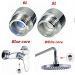6 Liters And 8 Liters Water Saving Device Valve For Top Spray Shower Head Shower Faucet