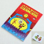 Kingmagic Mini Cartoon Book Magic Props Kids Favourite Performance Props