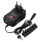 30W Universal Multi-Function Charger Power Adapter With 6pcs Converter