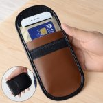 Double Layer Cell Phone Anti Radiation Signal Shielding Bag Pouch Case For Xiaomi iPhone Samsung